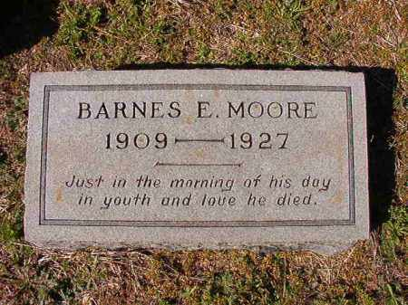 MOORE, BARNES E - Dallas County, Arkansas | BARNES E MOORE - Arkansas Gravestone Photos