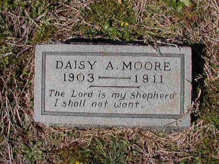 MOORE, DAISY A - Dallas County, Arkansas | DAISY A MOORE - Arkansas Gravestone Photos