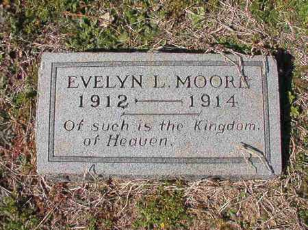 MOORE, EVELYN L - Dallas County, Arkansas | EVELYN L MOORE - Arkansas Gravestone Photos