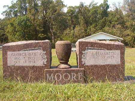 MOORE, GEORGE DAIL - Dallas County, Arkansas | GEORGE DAIL MOORE - Arkansas Gravestone Photos