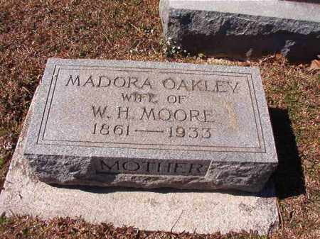 OAKLEY MOORE, MADORA - Dallas County, Arkansas | MADORA OAKLEY MOORE - Arkansas Gravestone Photos