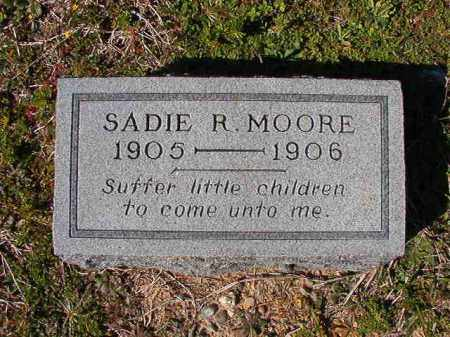 MOORE, SADIE R - Dallas County, Arkansas | SADIE R MOORE - Arkansas Gravestone Photos