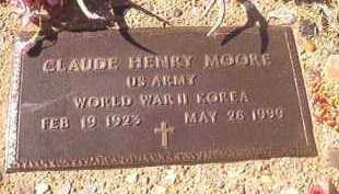 MOORE (VETERAN 2 WARS), CLAUDE HENRY - Dallas County, Arkansas | CLAUDE HENRY MOORE (VETERAN 2 WARS) - Arkansas Gravestone Photos