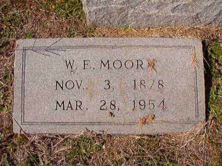 MOORE, W E - Dallas County, Arkansas | W E MOORE - Arkansas Gravestone Photos