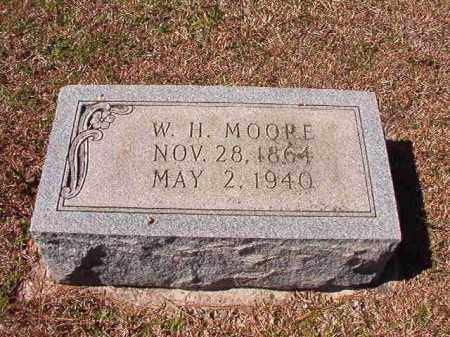 MOORE, W H - Dallas County, Arkansas | W H MOORE - Arkansas Gravestone Photos