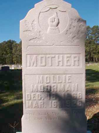 MOORMAN, MOLLIE - Dallas County, Arkansas | MOLLIE MOORMAN - Arkansas Gravestone Photos