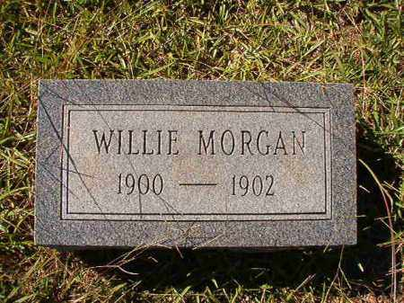 MORGAN, WILLIE - Dallas County, Arkansas | WILLIE MORGAN - Arkansas Gravestone Photos