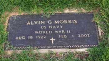 MORRIS (VETERAN 2 WARS), ALVIN G - Dallas County, Arkansas | ALVIN G MORRIS (VETERAN 2 WARS) - Arkansas Gravestone Photos