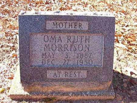 MORRISON, OMA RUTH - Dallas County, Arkansas | OMA RUTH MORRISON - Arkansas Gravestone Photos