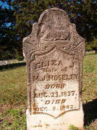 MOSELEY, ELIZA J - Dallas County, Arkansas | ELIZA J MOSELEY - Arkansas Gravestone Photos