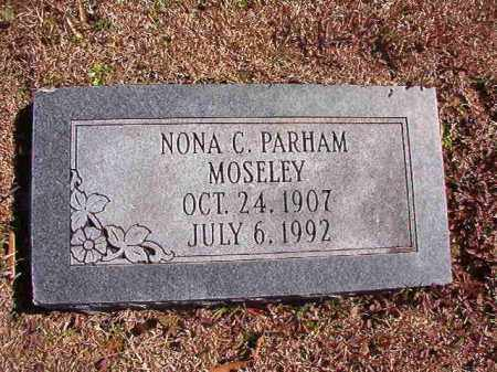MOSELEY, NONA C - Dallas County, Arkansas | NONA C MOSELEY - Arkansas Gravestone Photos