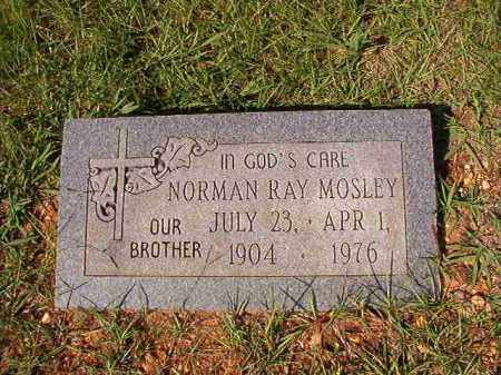 MOSLEY, NORMAN RAY - Dallas County, Arkansas | NORMAN RAY MOSLEY - Arkansas Gravestone Photos