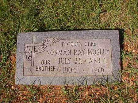 MOSLEY, NORMAN RAY - Dallas County, Arkansas | NORMAN RAY MOSLEY - Arkansas Gravestone Photos