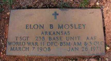 MOSLEY (VETERAN WWII), ELON B - Dallas County, Arkansas | ELON B MOSLEY (VETERAN WWII) - Arkansas Gravestone Photos