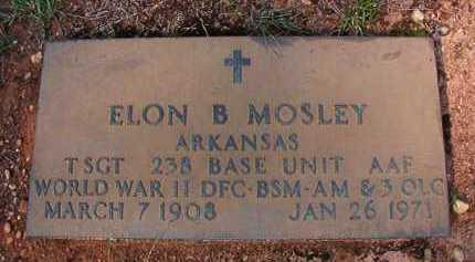 MOSLEY (VETERAN WWII), ELON B - Dallas County, Arkansas | ELON B MOSLEY (VETERAN WWII) - Arkansas Gravestone Photos