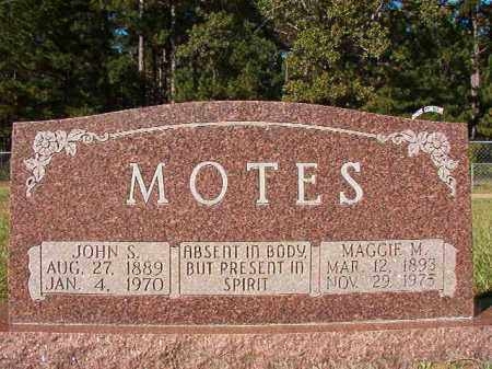 MOTES, MAGGIE M - Dallas County, Arkansas | MAGGIE M MOTES - Arkansas Gravestone Photos