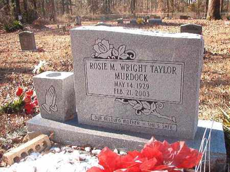 WRIGHT TAYLOR MURDOCK, ROSIE M - Dallas County, Arkansas | ROSIE M WRIGHT TAYLOR MURDOCK - Arkansas Gravestone Photos