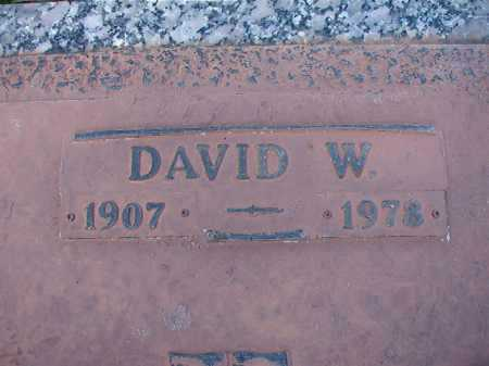 MYERS, DAVID W (CLOSEUP) - Dallas County, Arkansas | DAVID W (CLOSEUP) MYERS - Arkansas Gravestone Photos