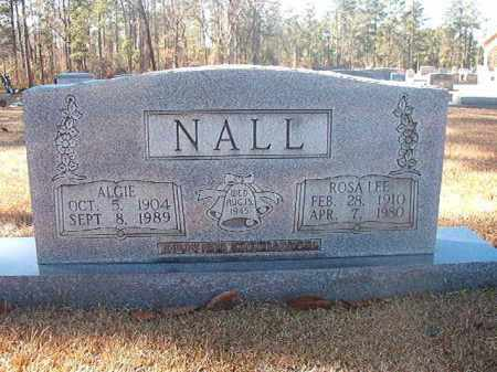 NALL, ALGIE - Dallas County, Arkansas | ALGIE NALL - Arkansas Gravestone Photos