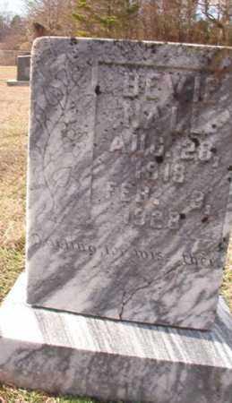 NALL, BEVIE - Dallas County, Arkansas | BEVIE NALL - Arkansas Gravestone Photos