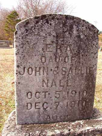 NALL, ERA - Dallas County, Arkansas | ERA NALL - Arkansas Gravestone Photos