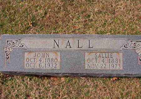 NALL, SALLIE - Dallas County, Arkansas | SALLIE NALL - Arkansas Gravestone Photos