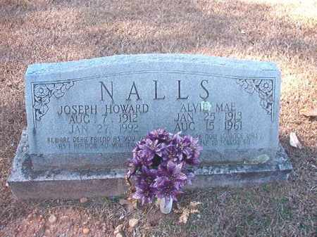 NALLS, JOSEPH HOWARD - Dallas County, Arkansas | JOSEPH HOWARD NALLS - Arkansas Gravestone Photos