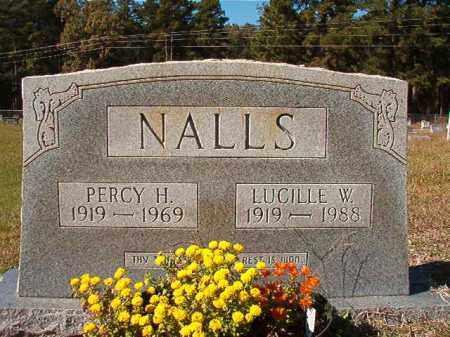NALLS, PERCY H - Dallas County, Arkansas | PERCY H NALLS - Arkansas Gravestone Photos