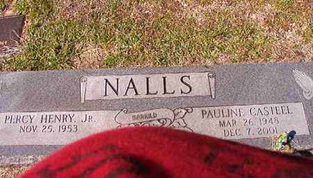 CASTEEL NALLS, PAULINE - Dallas County, Arkansas | PAULINE CASTEEL NALLS - Arkansas Gravestone Photos