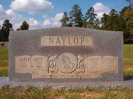 DEDMAN NAYLOR, GRACE - Dallas County, Arkansas | GRACE DEDMAN NAYLOR - Arkansas Gravestone Photos
