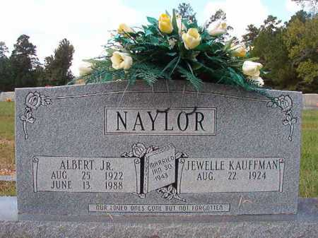 NAYLOR, JR, ALBERT - Dallas County, Arkansas | ALBERT NAYLOR, JR - Arkansas Gravestone Photos