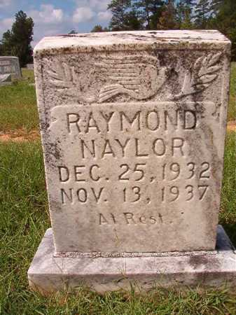 NAYLOR, RAYMOND - Dallas County, Arkansas | RAYMOND NAYLOR - Arkansas Gravestone Photos