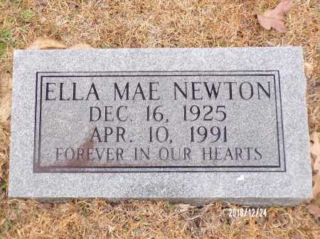 NEWTON, ELLA MAE - Dallas County, Arkansas | ELLA MAE NEWTON - Arkansas Gravestone Photos