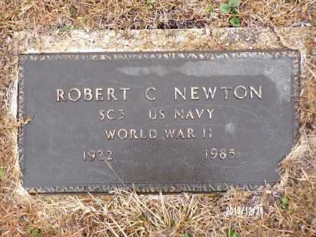 NEWTON (VETERAN WWII), ROBERT C - Dallas County, Arkansas | ROBERT C NEWTON (VETERAN WWII) - Arkansas Gravestone Photos