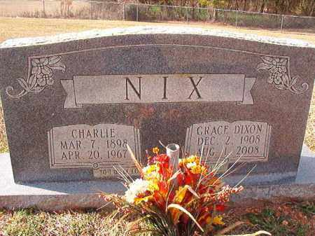 DIXON NIX, GRACE - Dallas County, Arkansas | GRACE DIXON NIX - Arkansas Gravestone Photos