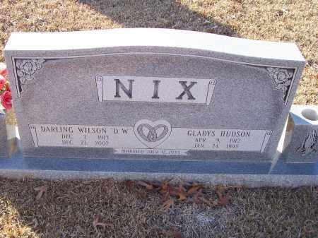 HUDSON NIX, GLADYS ROSE - Dallas County, Arkansas | GLADYS ROSE HUDSON NIX - Arkansas Gravestone Photos