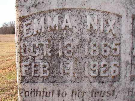 NIX, EMMA - Dallas County, Arkansas | EMMA NIX - Arkansas Gravestone Photos