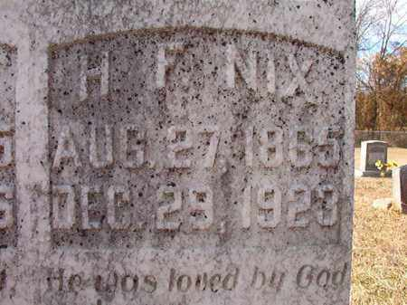 NIX, H F - Dallas County, Arkansas | H F NIX - Arkansas Gravestone Photos