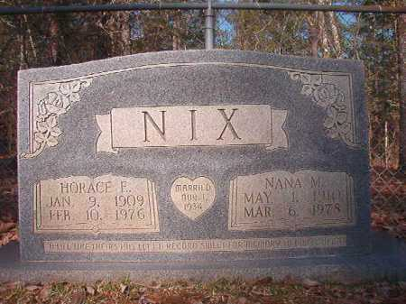 NIX, NANA M - Dallas County, Arkansas | NANA M NIX - Arkansas Gravestone Photos