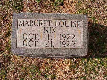 NIX, MARGARET LOUISE - Dallas County, Arkansas | MARGARET LOUISE NIX - Arkansas Gravestone Photos