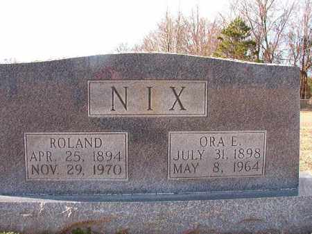 NIX, ROLAND - Dallas County, Arkansas | ROLAND NIX - Arkansas Gravestone Photos