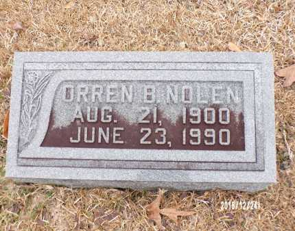 NOLEN, ORREN B - Dallas County, Arkansas | ORREN B NOLEN - Arkansas Gravestone Photos