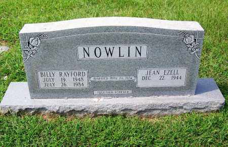 NOWLIN, BILLY RAYFORD - Dallas County, Arkansas | BILLY RAYFORD NOWLIN - Arkansas Gravestone Photos