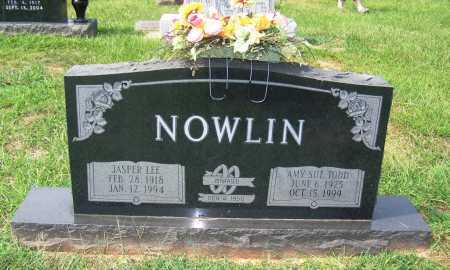 TODD NOWLIN, AMY SUE - Dallas County, Arkansas | AMY SUE TODD NOWLIN - Arkansas Gravestone Photos