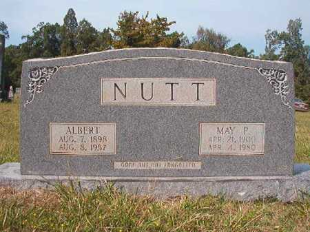 NUTT, ALBERT - Dallas County, Arkansas | ALBERT NUTT - Arkansas Gravestone Photos