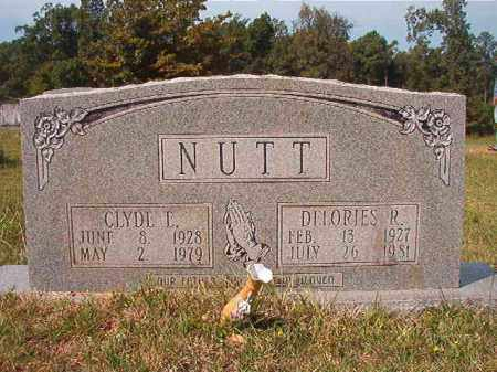 NUTT, CLYDE E - Dallas County, Arkansas | CLYDE E NUTT - Arkansas Gravestone Photos
