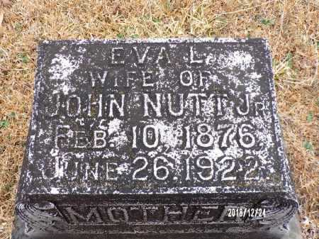 NUTT, EVA L - Dallas County, Arkansas | EVA L NUTT - Arkansas Gravestone Photos