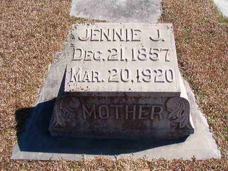 NUTT, JENNIE J - Dallas County, Arkansas | JENNIE J NUTT - Arkansas Gravestone Photos