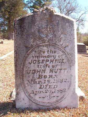 NUTT, JOSEPHINE - Dallas County, Arkansas | JOSEPHINE NUTT - Arkansas Gravestone Photos
