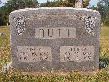 NUTT, JAKE P - Dallas County, Arkansas | JAKE P NUTT - Arkansas Gravestone Photos